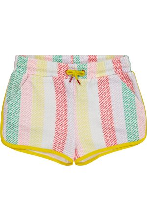 The Marc Jacobs Logo striped track shorts