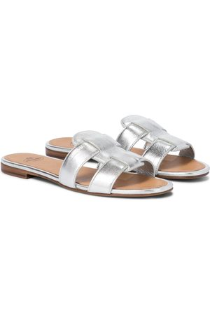 Church's Dame Loafers - Dee Dee metallic leather slides