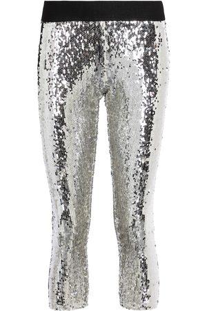 JUNYA WATANABE Sequined mid-rise leggings