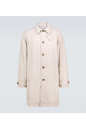 Bottega Veneta Leather padded trench coat