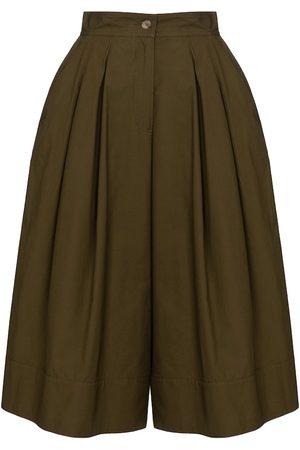 Moncler Genius Dame Slengbukser - 1 MONCLER JW ANDERSON cotton culottes