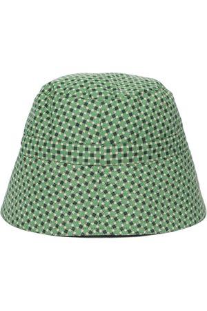 Caramel Jente Hatter - Hippocampus printed cotton sun hat