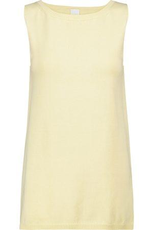 Max Mara Leisure Nastie cotton-blend knit tank top