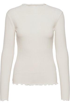 Karen by Simonsen Candacekb Ls Tee T-shirts & Tops Long-sleeved Hvit