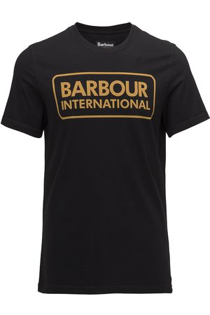 Barbour B.Intl Essential Large Logo Tee T-shirts Short-sleeved