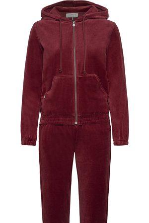 Rosemunde Dame Sett - Velour Tracksuite Sweat-shirts & Hoodies Tracksuits - SETS