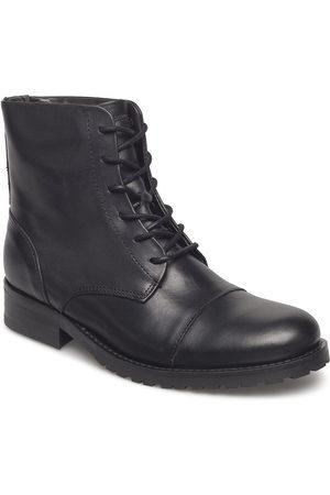 Royal RepubliQ Ave Midcut Shoes Boots Ankle Boots Ankle Boots Flat Heel Svart