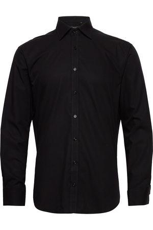 Bosweel Herre Langermede - Cotton Poplin Skjorte Business