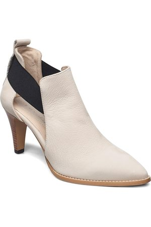 Nude of Scandinavia Dame Skoletter - Tuva Shoes Boots Ankle Boots Ankle Boot - Heel