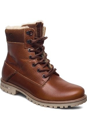 Björn Borg Kenna Hgh Tmb W Shoes Boots Ankle Boots Ankle Boots Flat Heel Brun