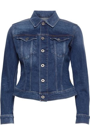 G-Star 3301 Slim Jacket Dongerijakke Denimjakke Blå