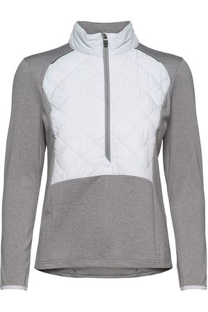 Abacus Lds Troon Hybrid 1/2 Zip Sweat-shirt Genser