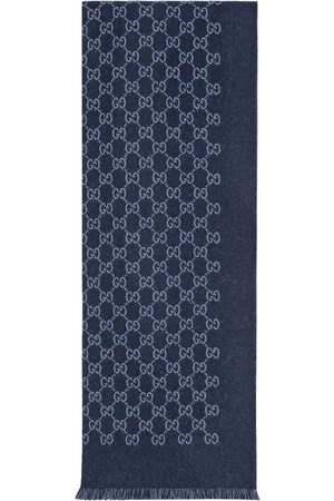 Gucci Herre Skjerf - GG jacquard wool scarf
