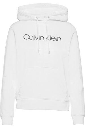 Calvin Klein Dame Hettegensere - Core Logo Ls Hoodie Hettegenser Genser