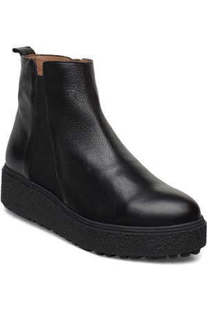 Wonders Dame Skoletter - A-9503 Shoes Boots Ankle Boots Ankle Boots Flat Heel