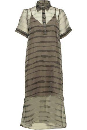 Just Female Dame Kjoler - Moca Polo Dress Dresses Everyday Dresses Grønn