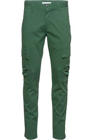 Knowledge Cotton Apparal Joe Trekking Pant - Gots/Vegan Trousers Cargo Pants Grønn
