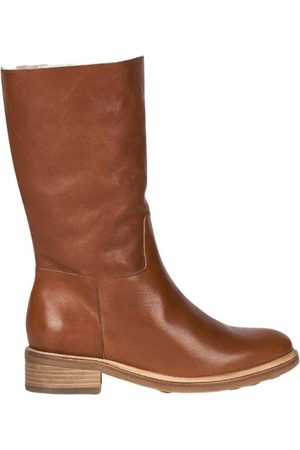 ANTHOLOGY PARIS 7481 fur-lined leather high boots