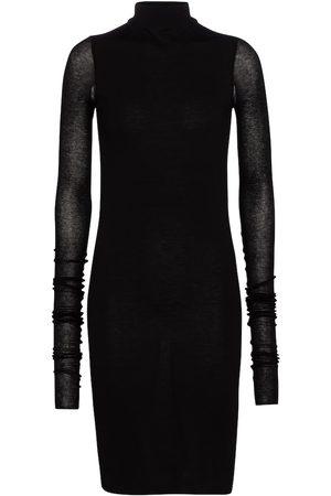 Rick Owens Lilies jersey mini dress