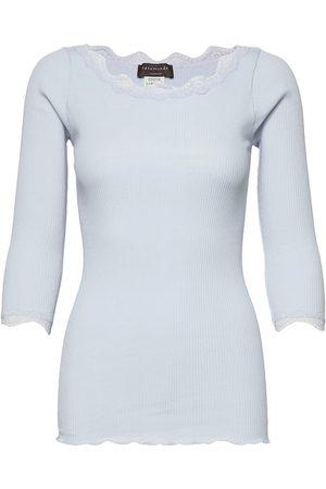 Rosemunde Organic T-Shirt Boat Neck Regular W T-shirts & Tops Long-sleeved Gul