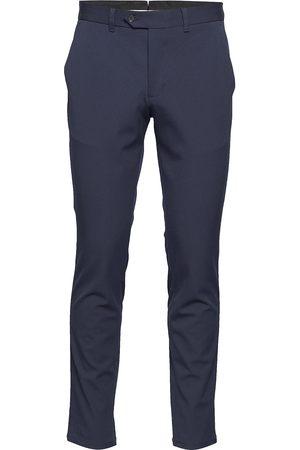 Selected Slhslim-Carlo Flex Pants B Noos Dressbukser Formelle Bukser Blå