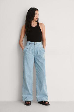 Trendyol Plisserte Jeans Med Høyt Liv