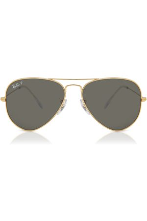 Ray-Ban Herre Solbriller - Solbriller RB3025 Aviator Large Metal Polarized 919648