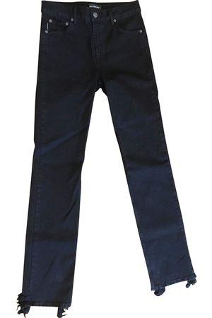 Balenciaga Look Hem Straight Jeans