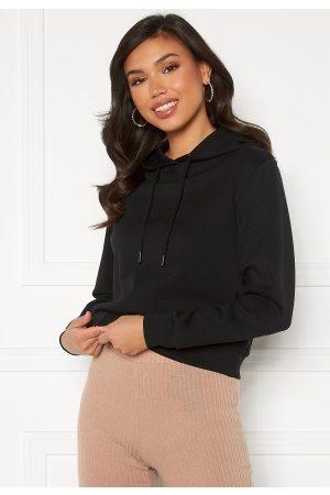 ONLY Joy L/S Hood Sweater Black L