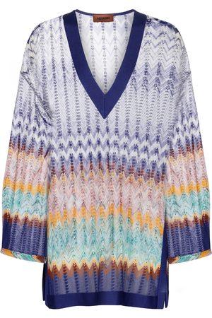 Missoni Zig-zag knit kaftan