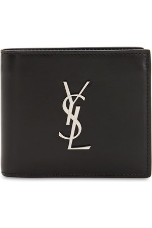 Saint Laurent Herre Lommebøker - East/west Logo Leather Wallet