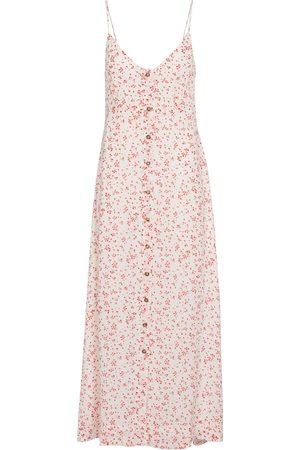 Ganni Floral georgette slip dress