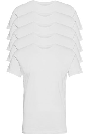 Knowledge Cotton Apparal Alder 5 Pack Basic Tee - Flat Packe T-shirts Short-sleeved