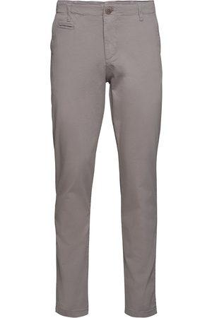 Knowledge Cotton Apparal Joe Slim Chino Pant - Gots/Vegan Chinos Bukser Brun