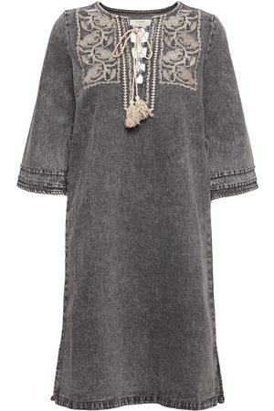 Cream Crlemua Kaftan Dress Tunika