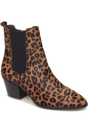 ANGULUS Booties - Block Heel - With Elas Shoes Boots Ankle Boots Ankle Boots With Heel