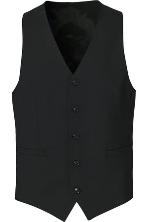 Tiger of Sweden Herre Dressvester - Litt Wool Waistcoat Black