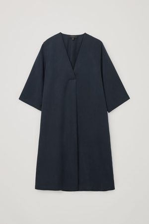 COS V-NECK TUNIC DRESS