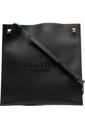 VALENTINO GARAVANI Logo-embossed messenger bag