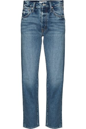Mother Dame Straight - Hiker Hover straight-leg jeans