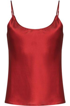 La Perla Dame Pyjamaser - Scoop-neck silk pyjama top