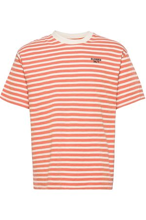 Closed Herre Kortermede - Mens T & Sweat-Shirt T-shirts Short-sleeved Oransje