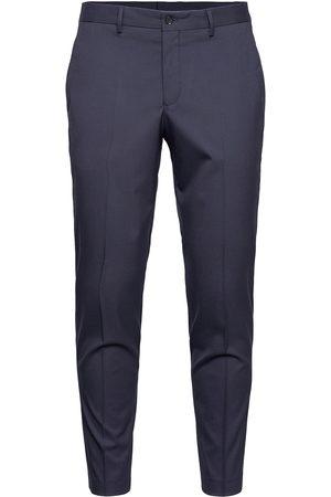 Selected Homme Herre Chinos - Slhslim-Mylologan Navy Crop Trs B Noos Dressbukser Formelle Bukser