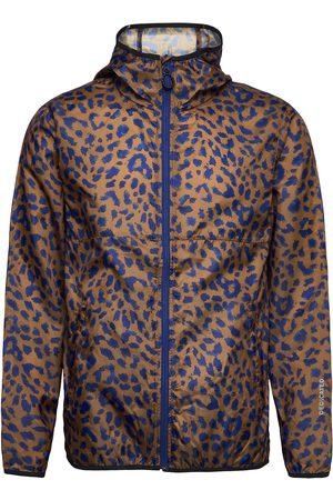 Dedicated Windbreaker Skara Leopard Tynn Jakke Brun