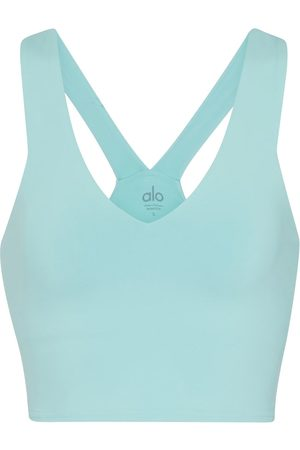 alo Real stretch-jersey crop top