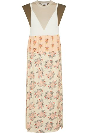 Chloé Floral midi dress