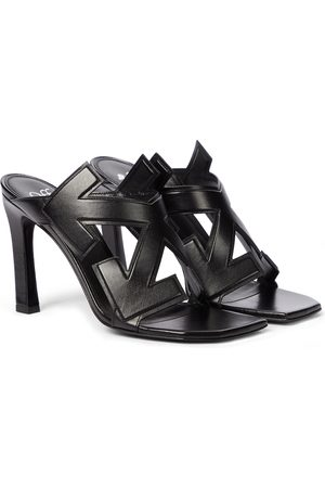 OFF-WHITE Arrow leather sandals