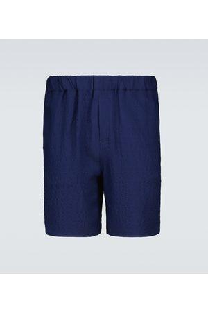 Ami Crêpe Bermuda shorts