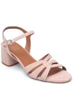 Billi Bi Dame Sandaler - Sandals 2592 Sandal Med Hæl Beige