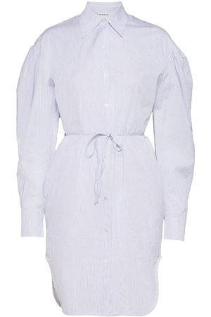 Designers Remix Umbria Shirt Dress Knelang Kjole Blå